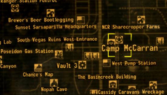 Fallout New Vegas Storage Building Black Mountain