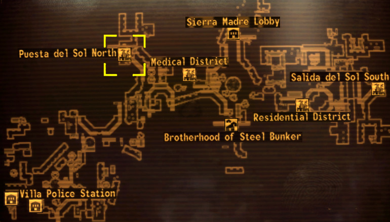 PdS_north_loc puesta del sol the vault fallout wiki fallout 4, fallout new fallout new vegas mixed signals fuse box at crackthecode.co