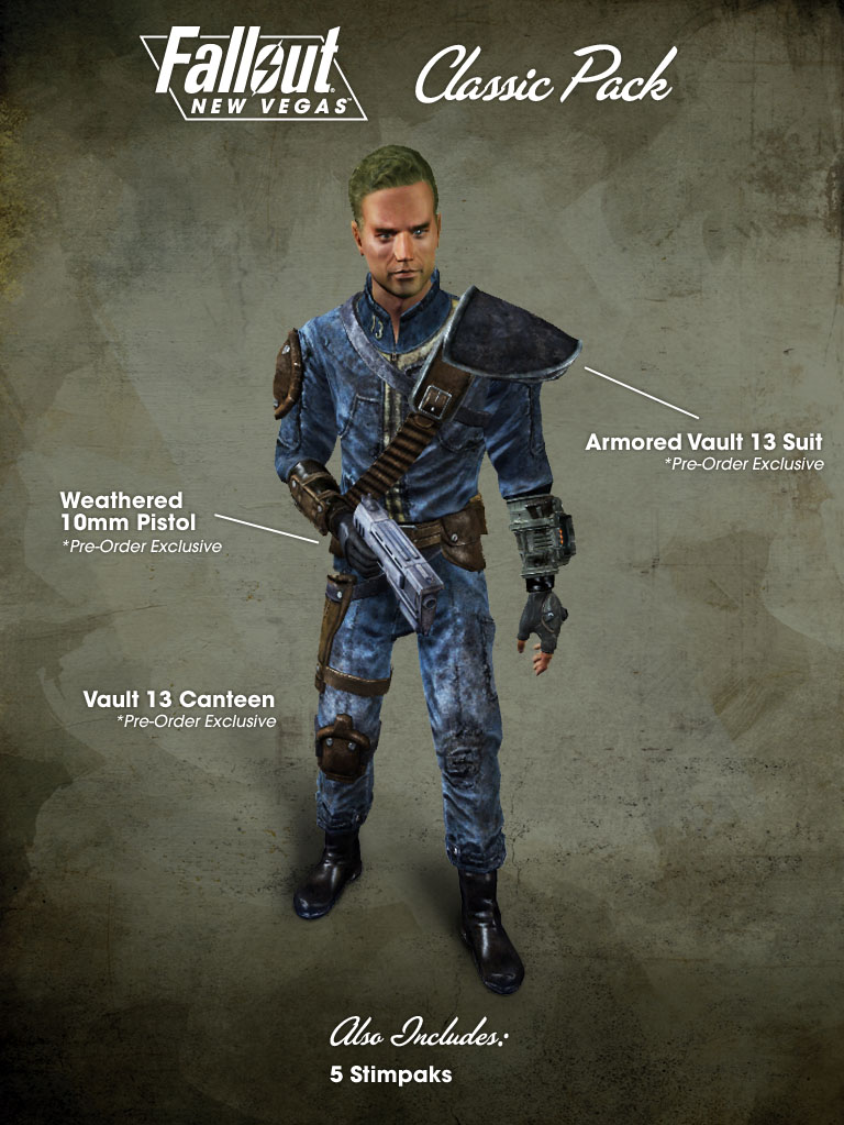 classic pack - the vault fallout wiki