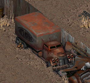 Transport Truck The Vault Fallout Wiki Fallout 4