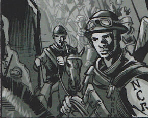 NCR as seen in Chance's flashback.