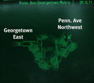 Metro Penn. Ave Georgetown Metro.jpg