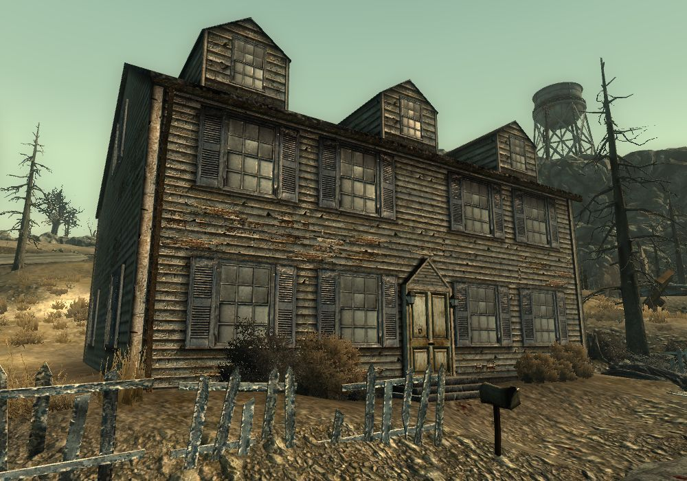 Gibson house - The Vault Fallout wiki - Fallout 4, Fallout ...