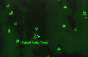 Fo4FH Ruined radio tower loc.png