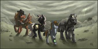 List of characters in Fallout: Equestria | Fallout: Equestria Wiki | Fandom