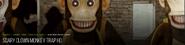 Scary Clown Monkey