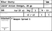 Biker Shotty Card