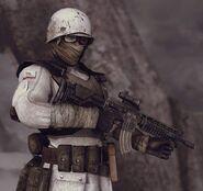 NCR Trooper in Winter gear