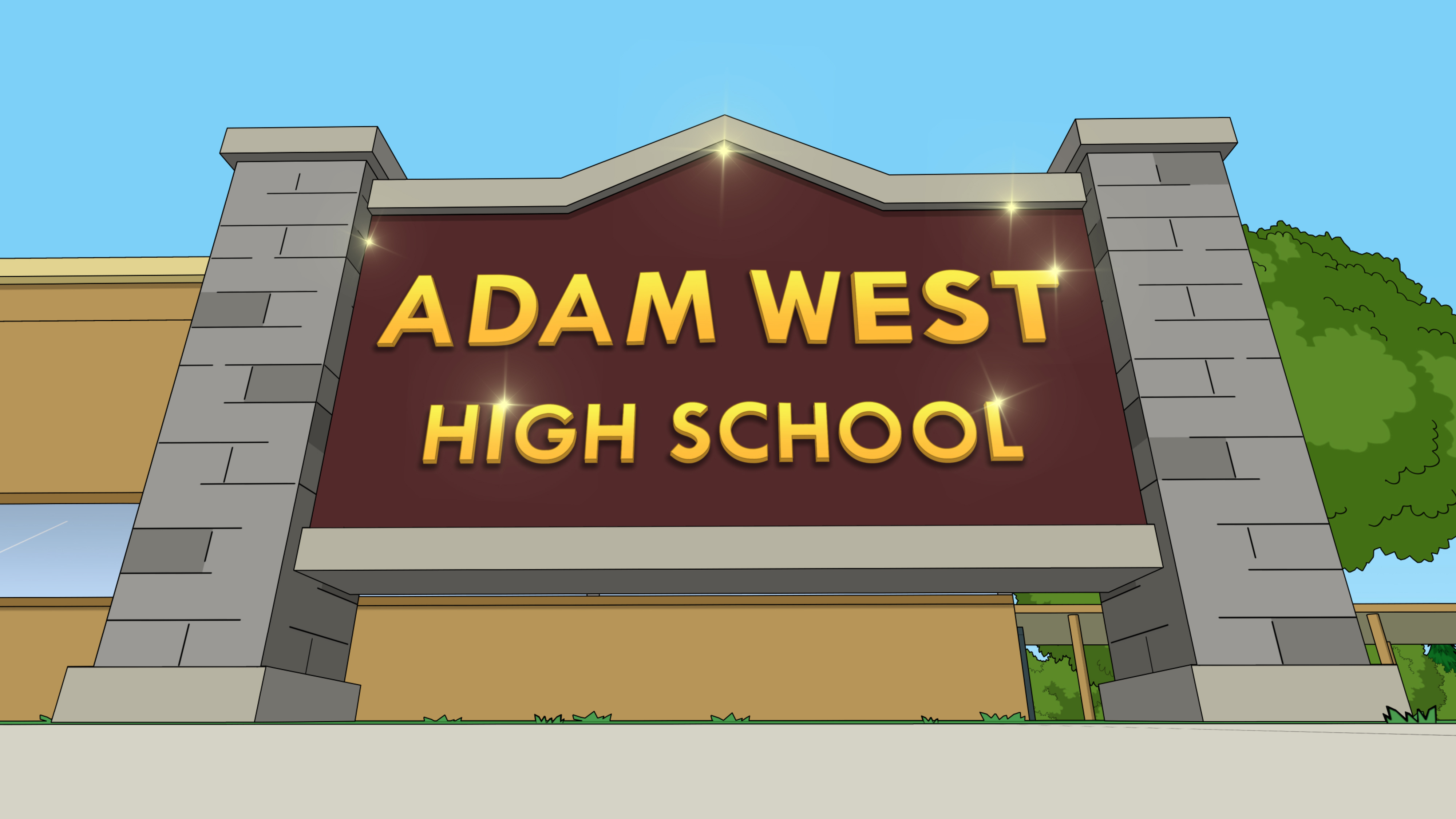 Adam West High