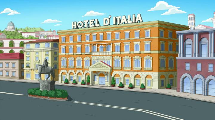 Hotel D'Italia