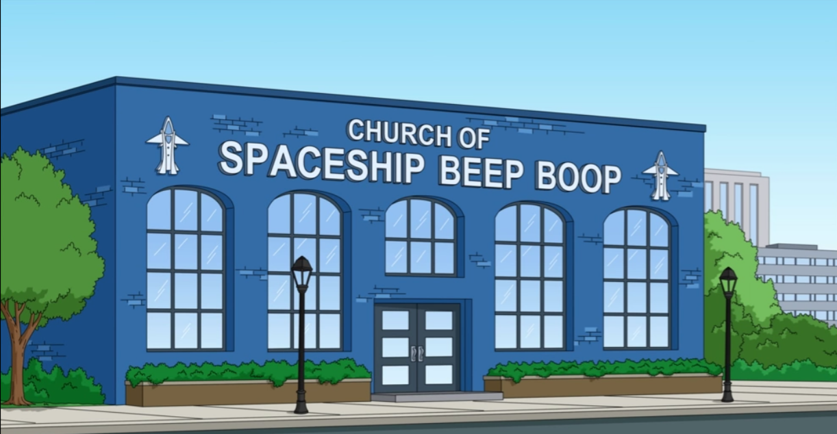Church of Spaceship Beep Boop