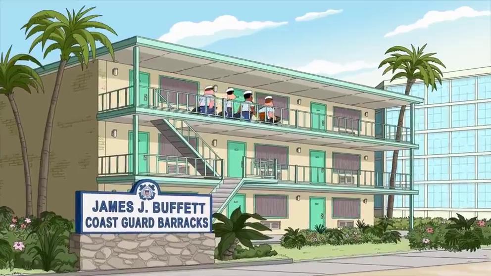 James J. Buffett Coast Guard Barracks