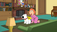 Lois Picks Brian for Fleas