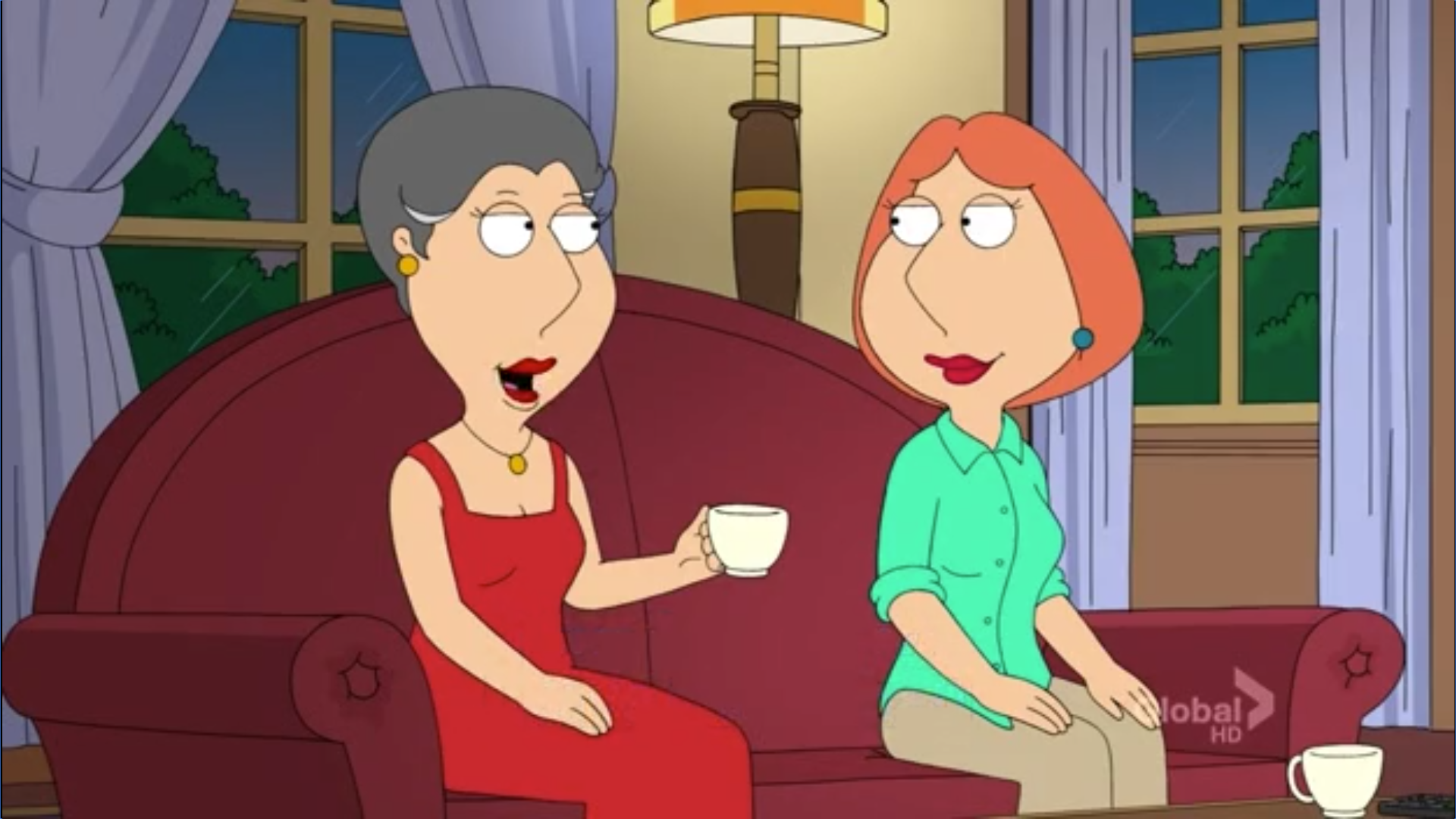 Lois and Babs' Relationship