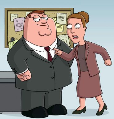 Peter and Angela's Relationship