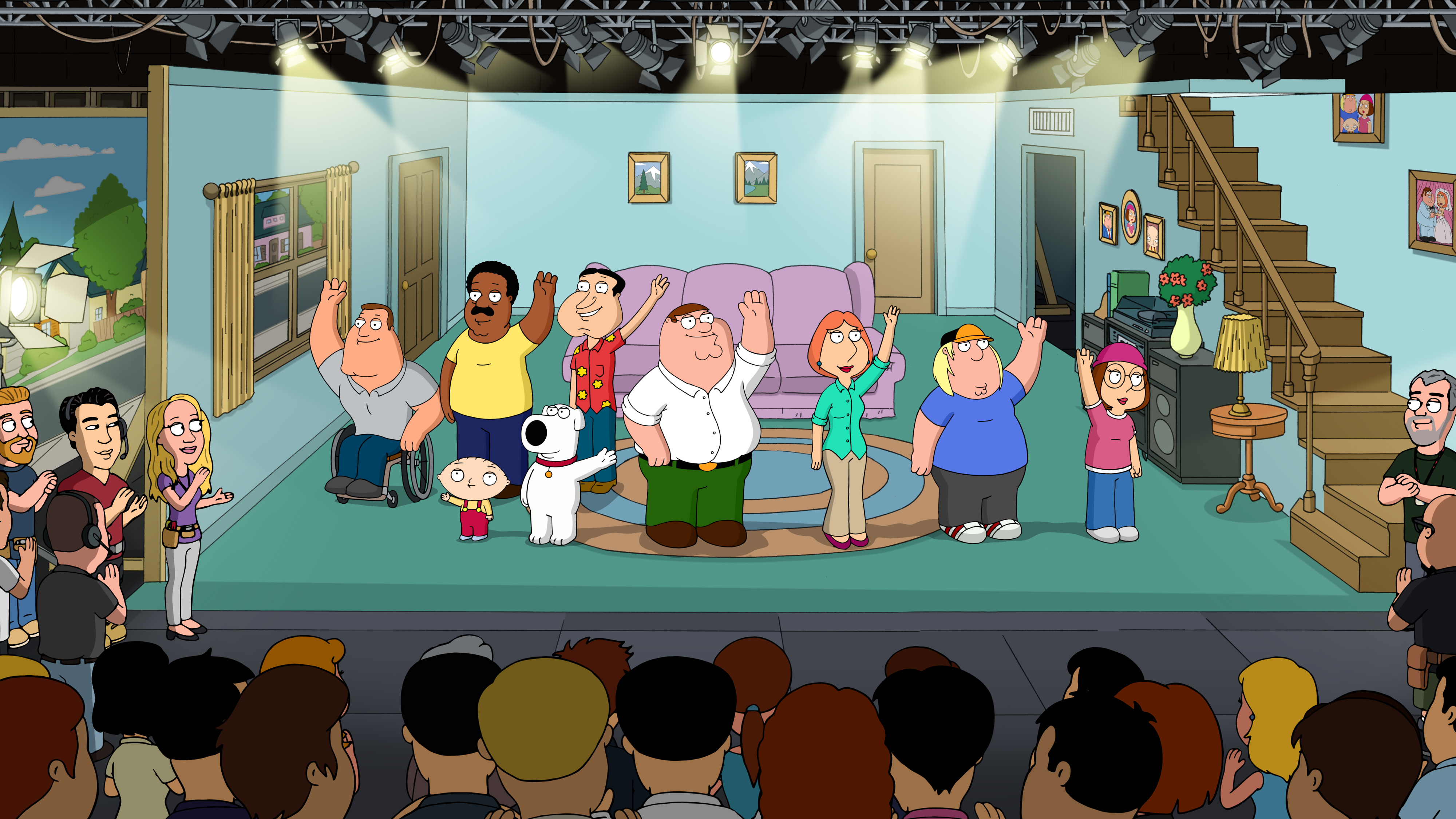 Inside Family Guy Family Guy Fanon Wiki Fandom Family guy pokes fun at the simpsons for being past its prime. inside family guy family guy fanon