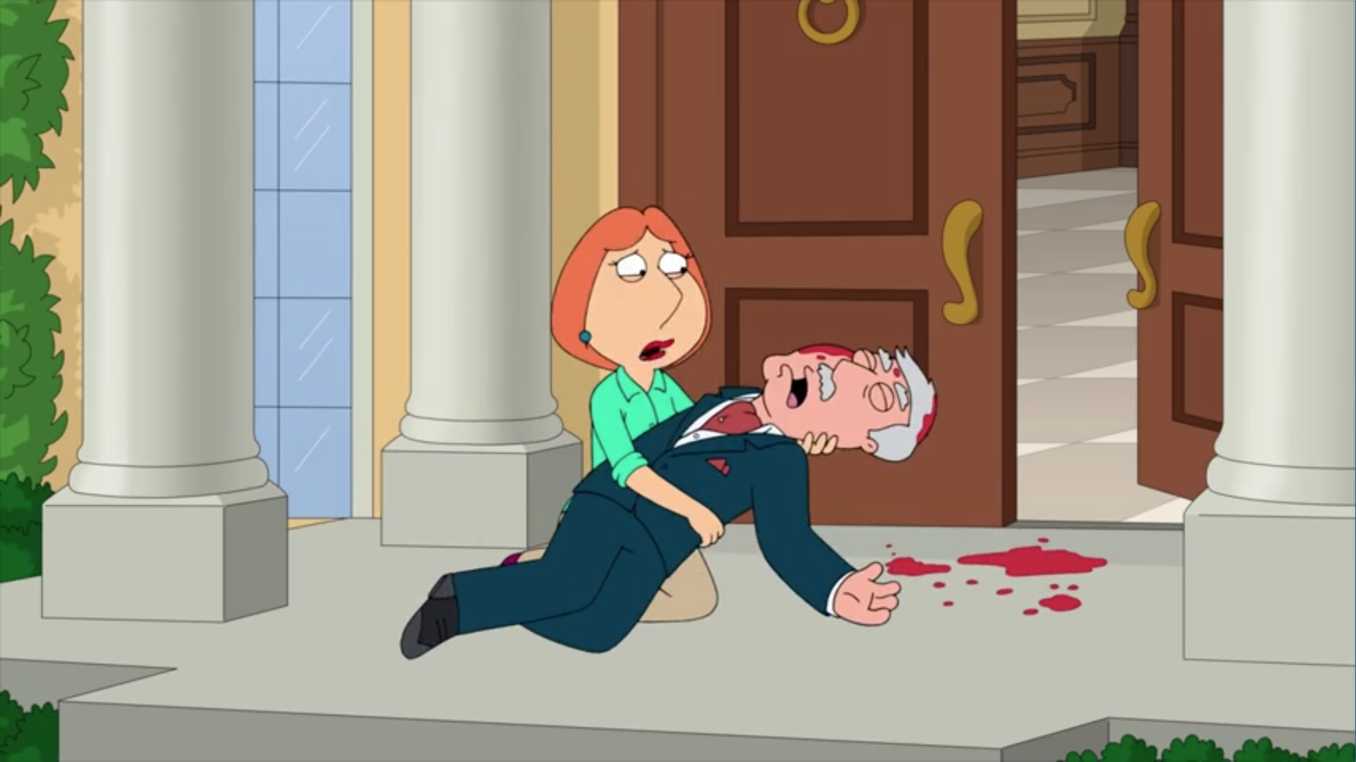 Lois and Carter's Relationship
