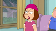Meg Mad at Lois in the Rain