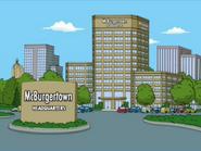 McBurgertown Headquarters