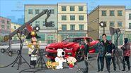 Family Guy The Movie set