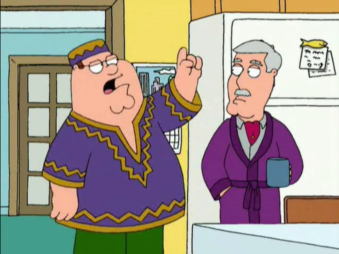 Peter Griffin: Husband, Father, ... Brother?