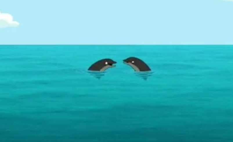 Screaming Black Dolphins