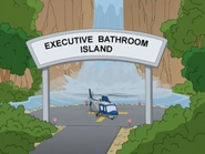 Executive Bathroom Island Sign