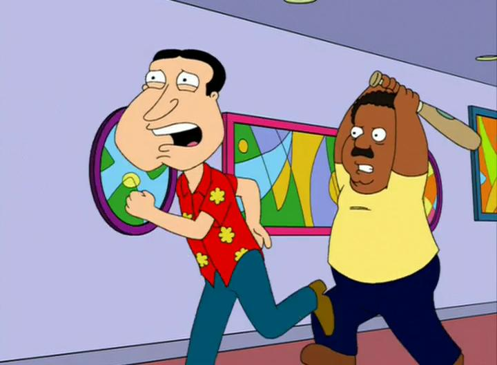 Cleveland and Quagmire's Relationship