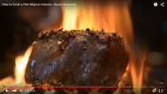 How to cook a filet mignon on the grill