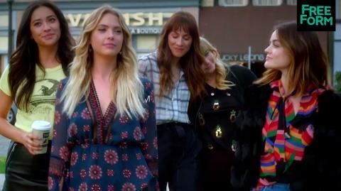 Pretty Little Liars + Famous in Love Pretty Famous Tuesday Freeform
