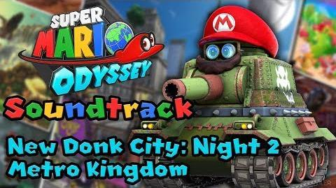 New Donk City Night 2 (Metro Kingdom) - Super Mario Odyssey Soundtrack