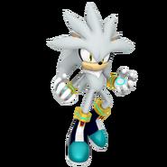 Silver the hedgehog 2016 render by nibroc rock-d9ug2es
