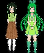 Noriko and Cure Kelp Profile