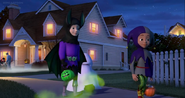 Nancy's Ghostly Halloween Hugo and Khalid from Sofia the First