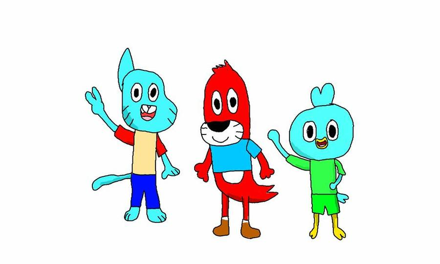 Gumball's New Friends