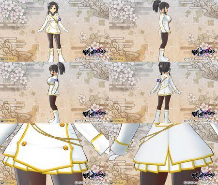 Senran Kagura Shinovi Versus Ikaruga Ninja Form for Asuka
