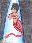 Art trade pt 1 genie jasmine by orange blade-d33nzdn