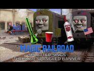 Magic Railroad - Splatter Sings The Star-Spangled Banner