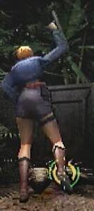 Aya Brea Tonfa Baton Swing Back View for Parasite Eve 2 (2)