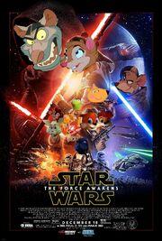 The Force Awakens (Disney and Sega Style) Poster.jpg