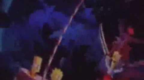 Chipmunks Ride The Simpsons Ride