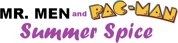 Mr. Men and Pac-Man: Summer Spice