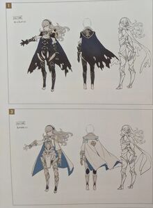 Female Corrin (Fire Emblem Fates) Concept Art