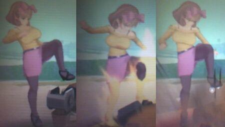 Senran Kagura 2 Haruka (Sexy Sweeter) Action