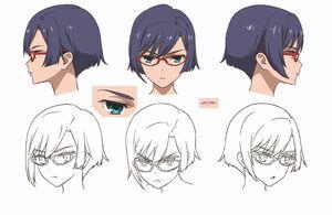 Kasumi Shigure Faces