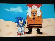 Sonic and Rikudou Sennin