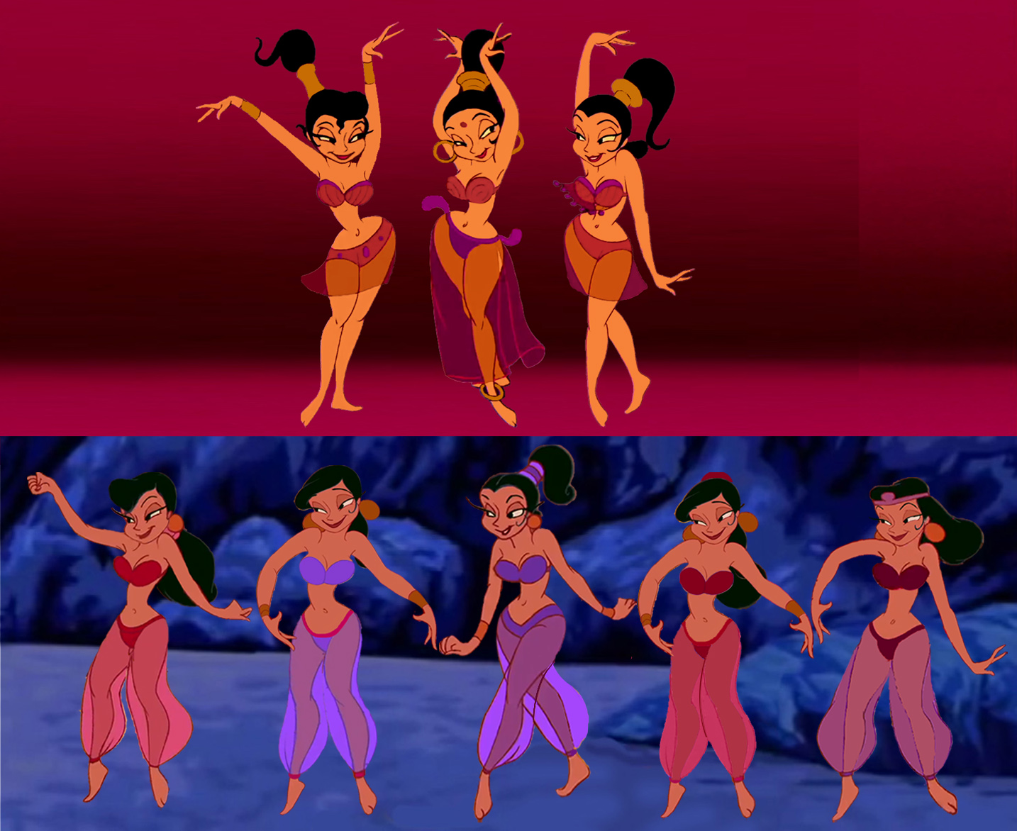 Genie Belly Dancers
