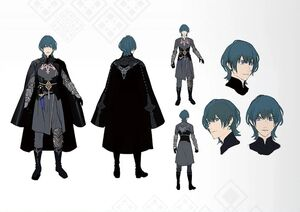 Male Byleth (Fire Emblem Three Houses) Concept Art