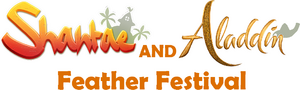 Shantae and Aladdin Feather Festival logo.png