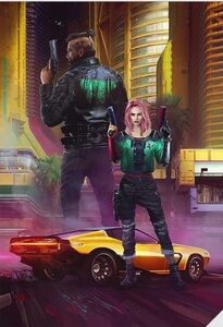 Street Kid BG for Cyberpunk 2077